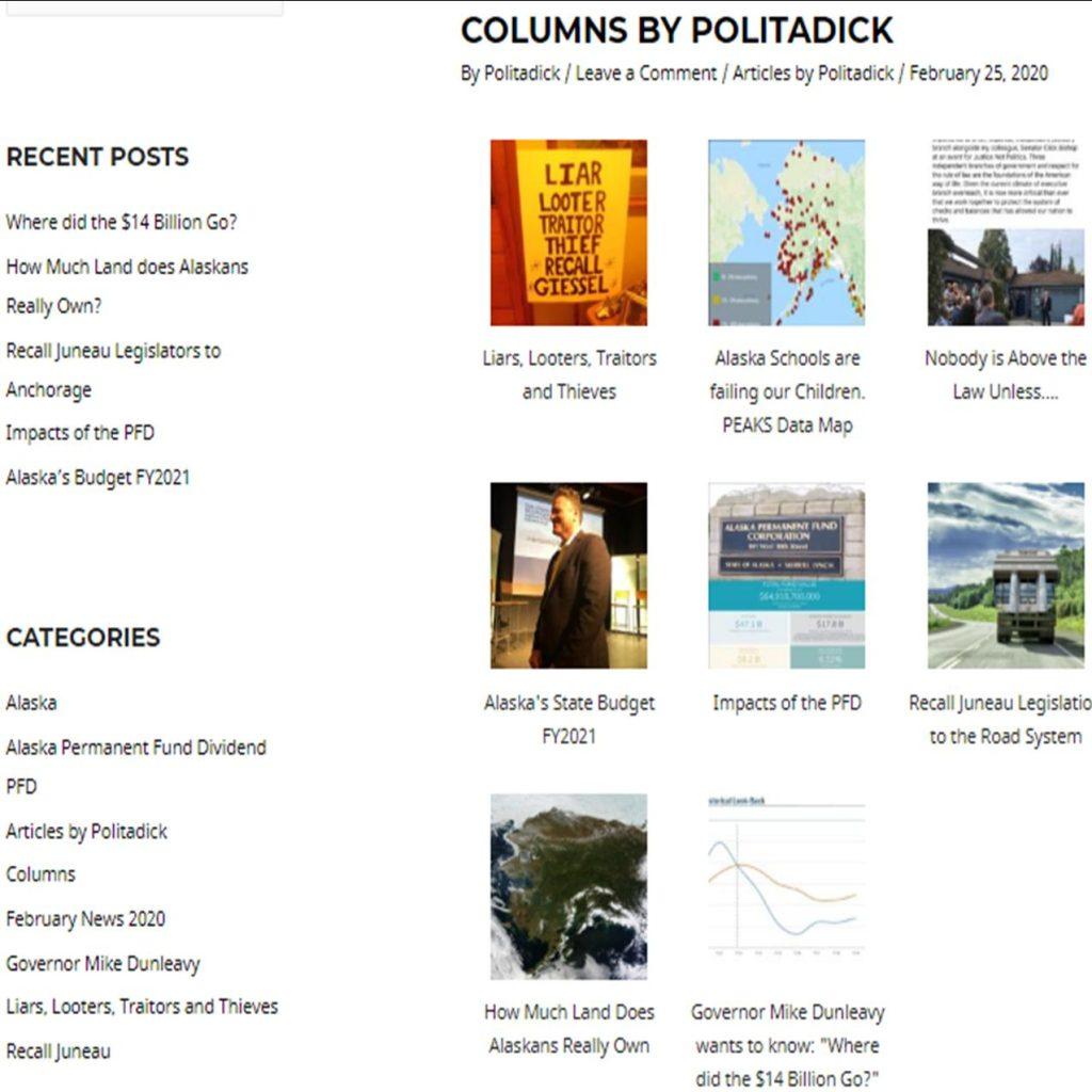 Columns By Politadick