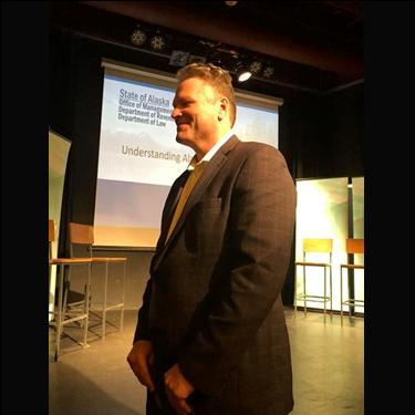 Governor Mike Dunleavy Standing Tall For All Alaskans