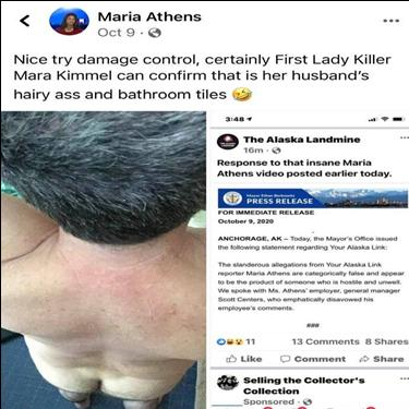 Maria Athens Breaking the News & Dispelling the Fake News