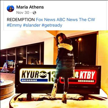 Maria Athens... The Story that MSM, Anchorage Assembly & the Far Left Socialist in Anchorage want to make sure is kept buried...
